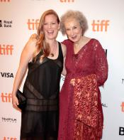 Sarah Polly and Margaret Atwood