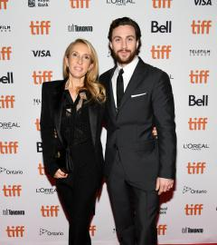 Sam and Aaron Taylor-Johnson on A Million Little Pieces red carpet
