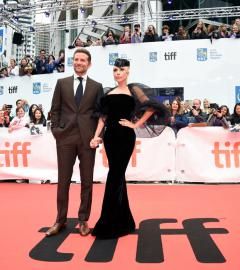 Lady Gaga and Bradley Cooper wow fans on A Star is Born red carpet