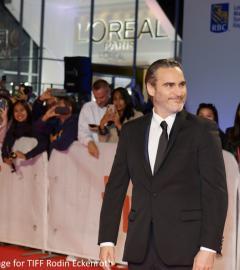 Joaquin Phoenix, Robert De Niro, Bradley Cooper at Joker premiere