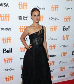 Natalie Portman, Jon Hamm at Lucy in the Sky TIFF red carpet