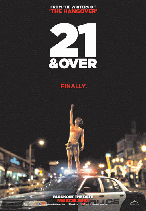 21 & Over Large Poster