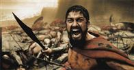 "A wounded Leonidas (GERARD BUTLER) roars his defiance at the Persian invaders in Warner Bros. Pictures', Legendary Pictures' and Virtual Studios' action drama ""300,"" distributed by Warner Bros. Pictures."