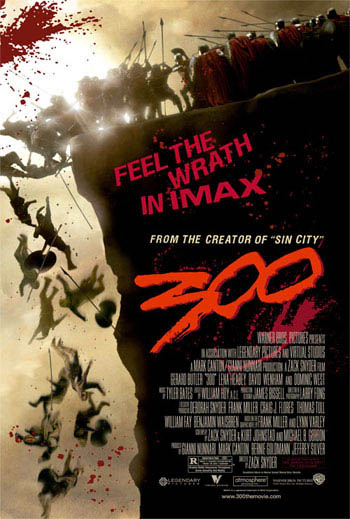 300: The IMAX Experience Movie Poster