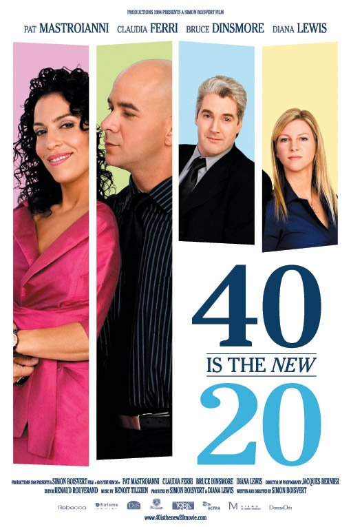 40 is the New 20 Large Poster