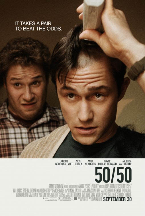 50/50 Large Poster