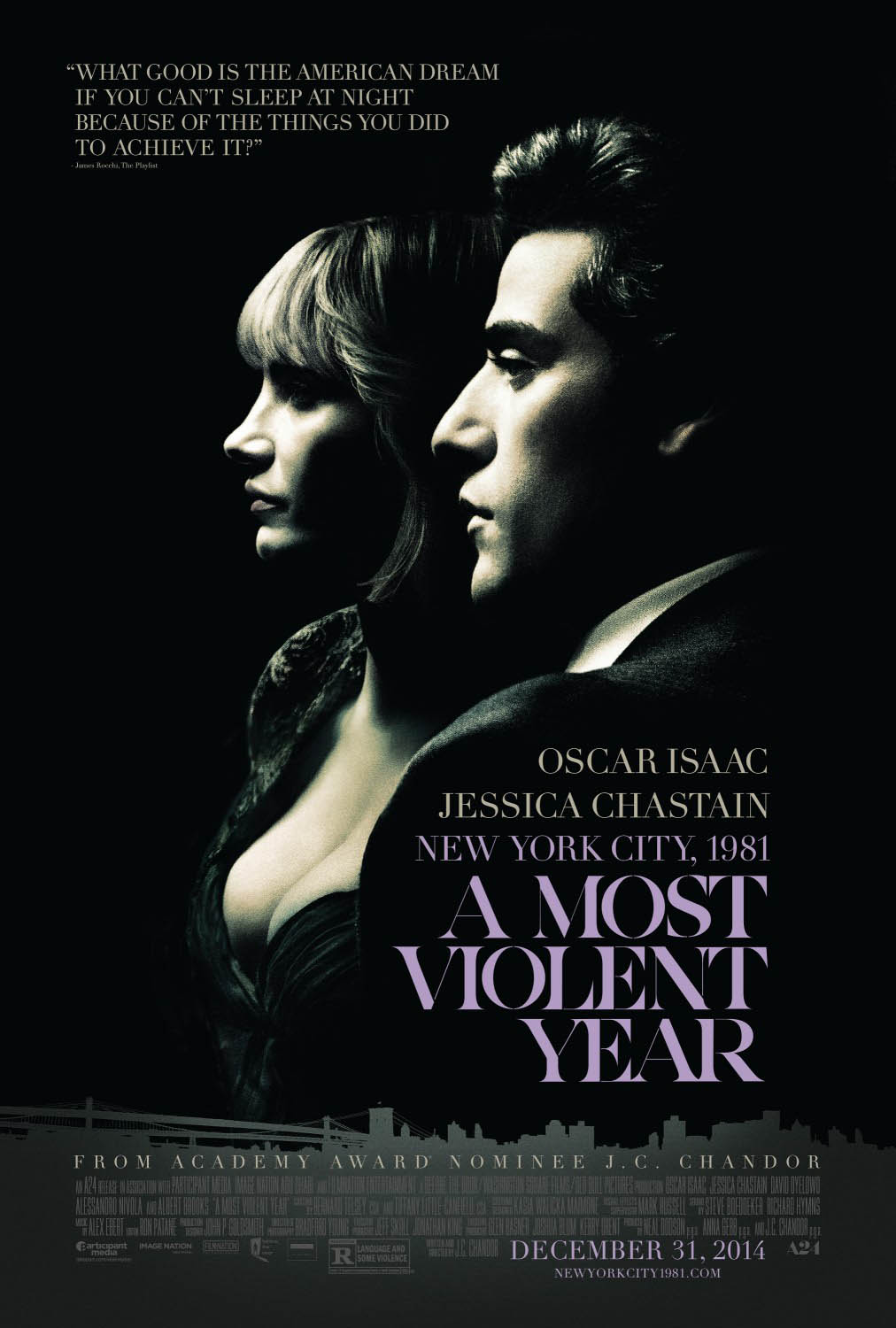 A Most Violent Year Large Poster