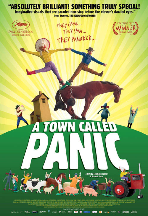 A Town Called Panic Large Poster