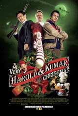 A Very Harold & Kumar 3D Christmas Movie Poster
