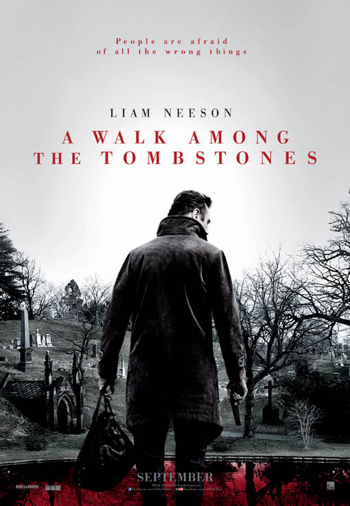 A Walk Among the Tombstones Large Poster