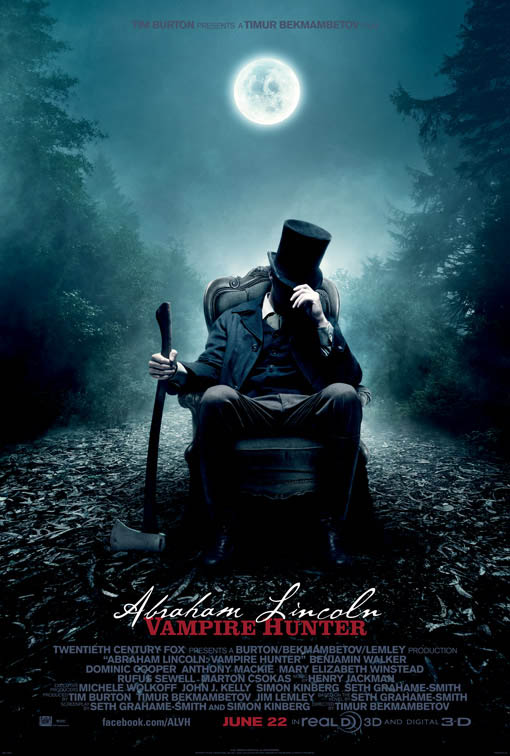 Abraham Lincoln: Vampire Hunter official Movie Poster