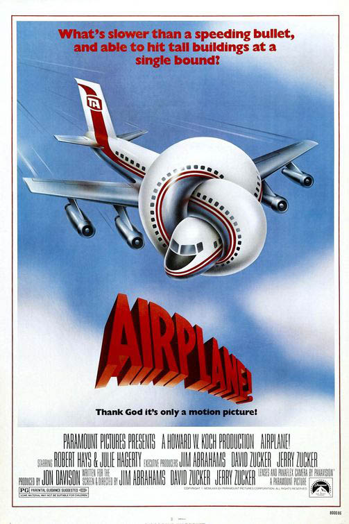 Airplane! Large Poster