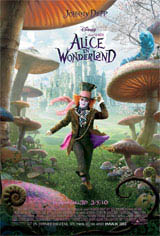 Alice in Wonderland (In Disney Digital 3D) Movie Poster