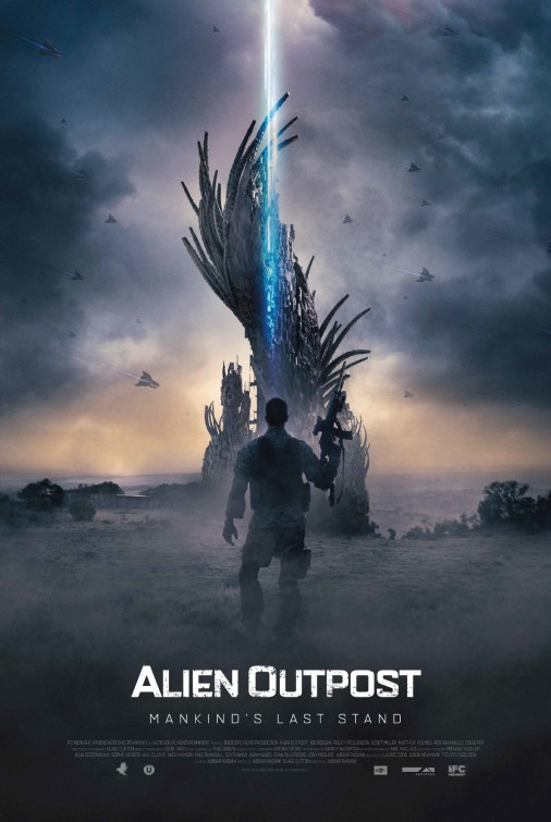 Alien Outpost Large Poster