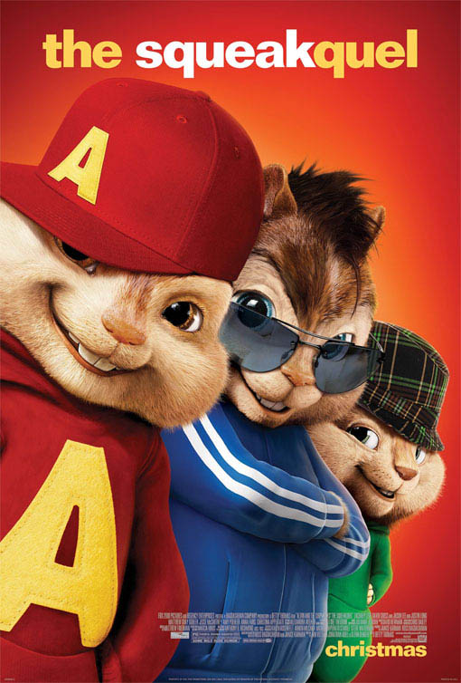 Alvin and the Chipmunks: The Squeakquel Large Poster