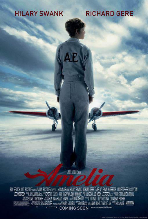 Amelia Large Poster