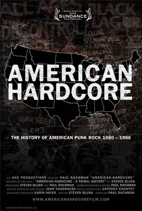 American Hardcore Large Poster