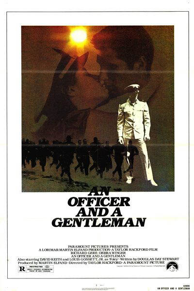 An Officer and a Gentleman Large Poster