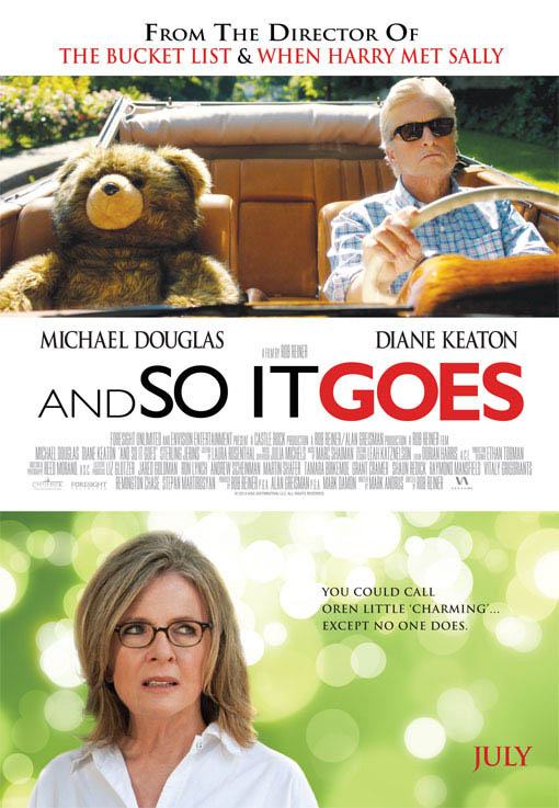 And So it Goes Large Poster
