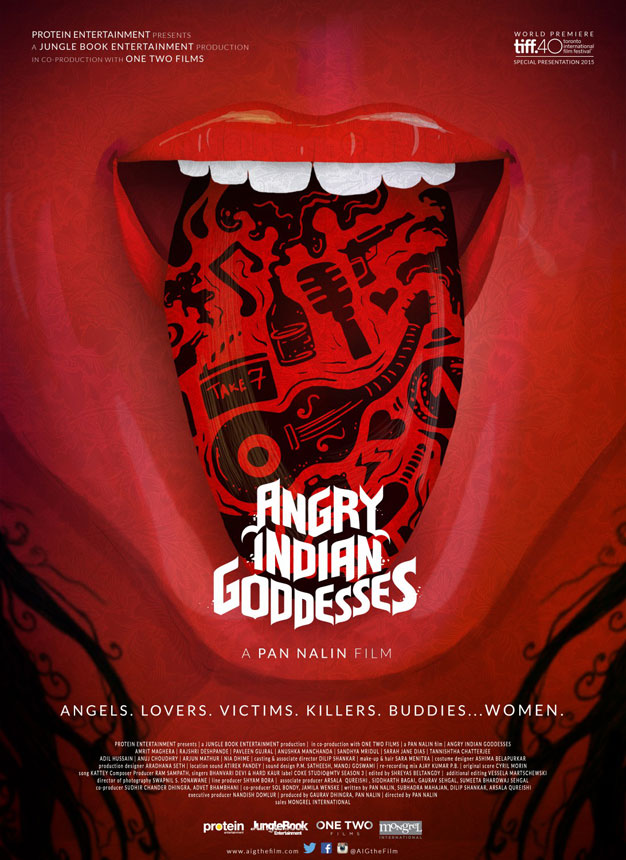 Angry Indian Goddesses Large Poster