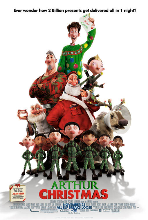 Arthur Christmas Large Poster