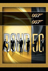 BOND 50: Celebrating Five Decades of Bond Movie Poster