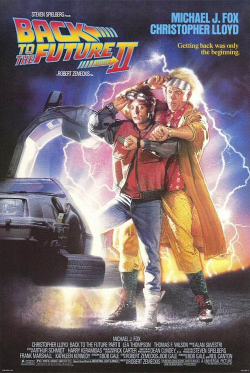 Back to the Future: Part II Large Poster