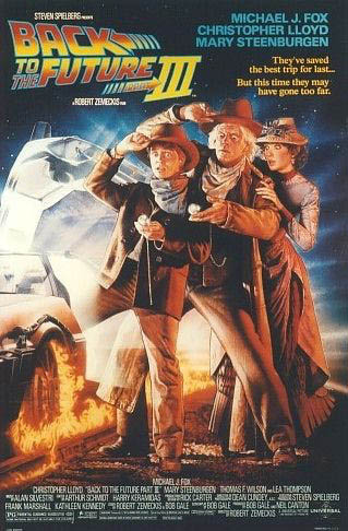 Back to the Future: Part III Large Poster