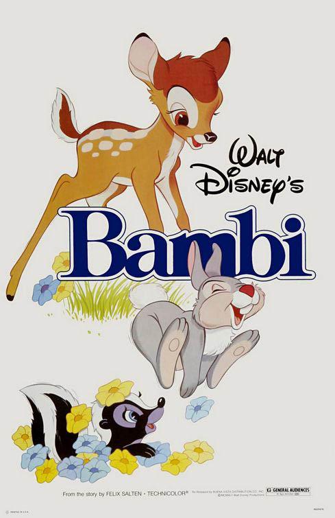 Bambi Large Poster
