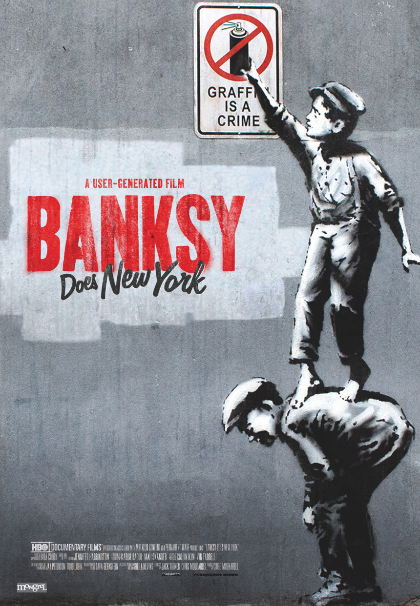 Banksy Does New York Large Poster