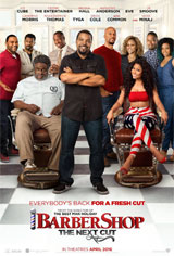 Barbershop: The Next Cut Movie Poster