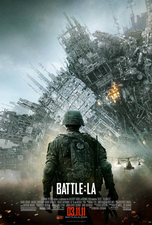 Battle: Los Angeles Large Poster