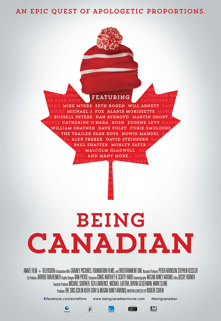 Being Canadian Large Poster