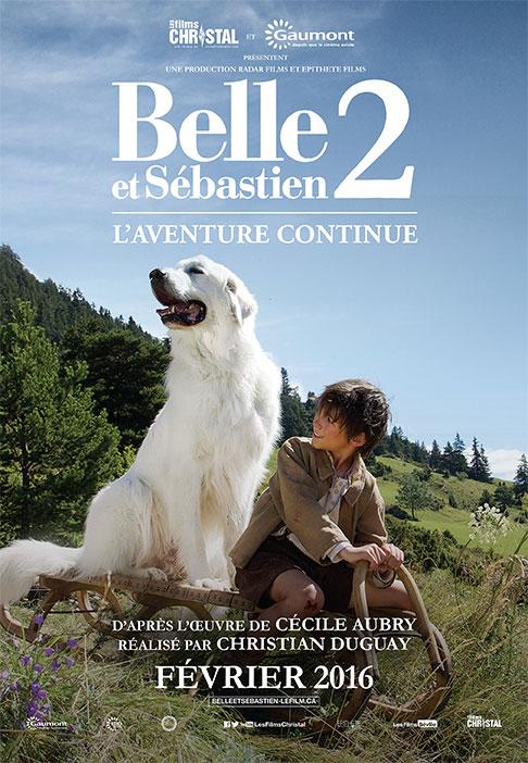 Belle & Sebastien 2: The Adventure Continues Large Poster