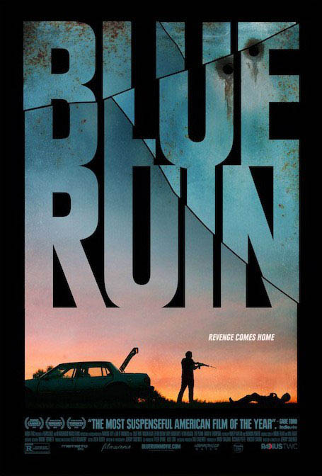 Blue Ruin Large Poster