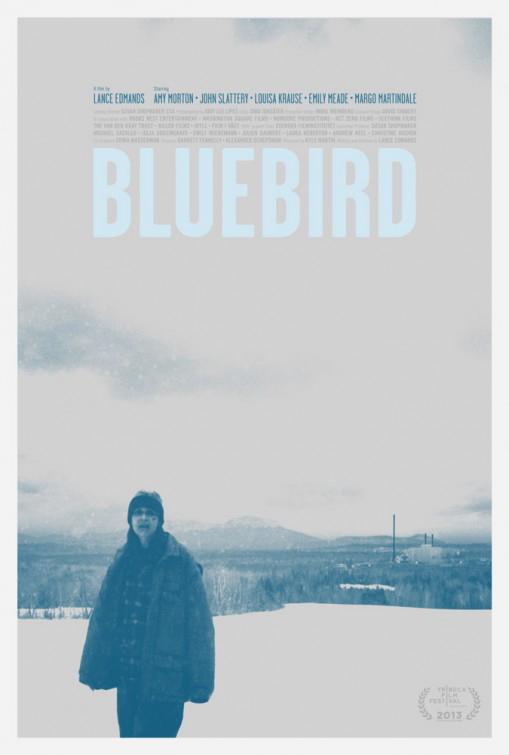 Bluebird Large Poster
