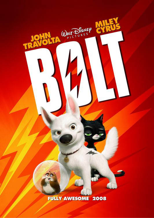 Volt (en Disney Digital 3D) Large Poster
