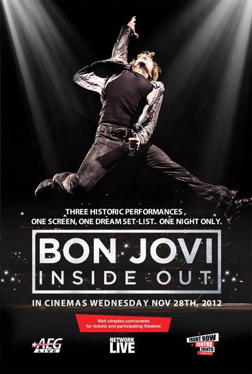 Bon Jovi Inside Out Large Poster