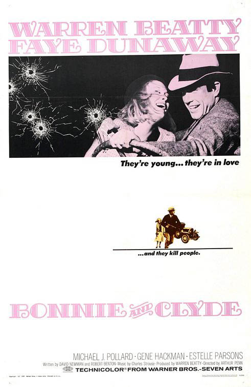 Bonnie and Clyde Large Poster