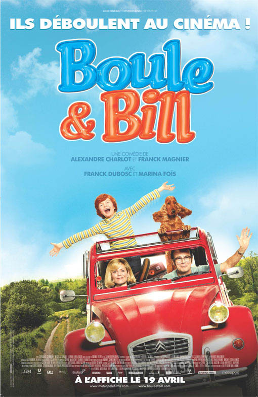 Boule & Bill Large Poster