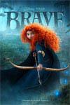 Brave 3D movie poster