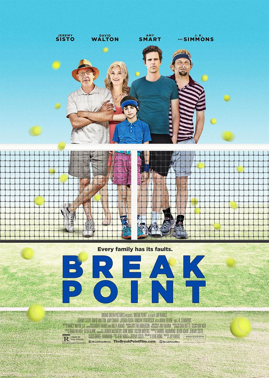 Break Point Large Poster