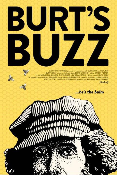 Burt's Buzz Large Poster