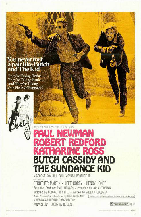 Butch Cassidy And The Sundance Kid Large Poster