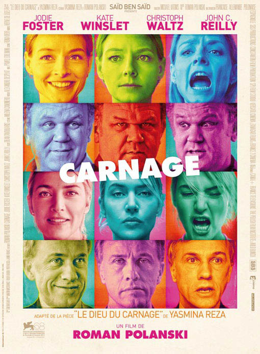 Carnage official Movie Poster