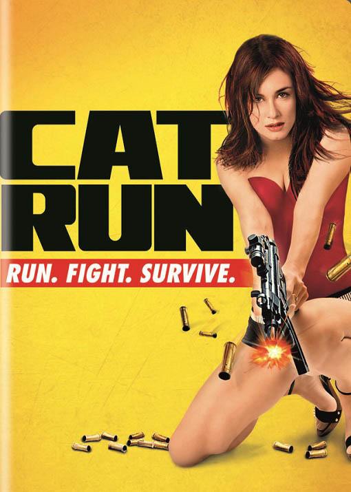 Cat Run Large Poster