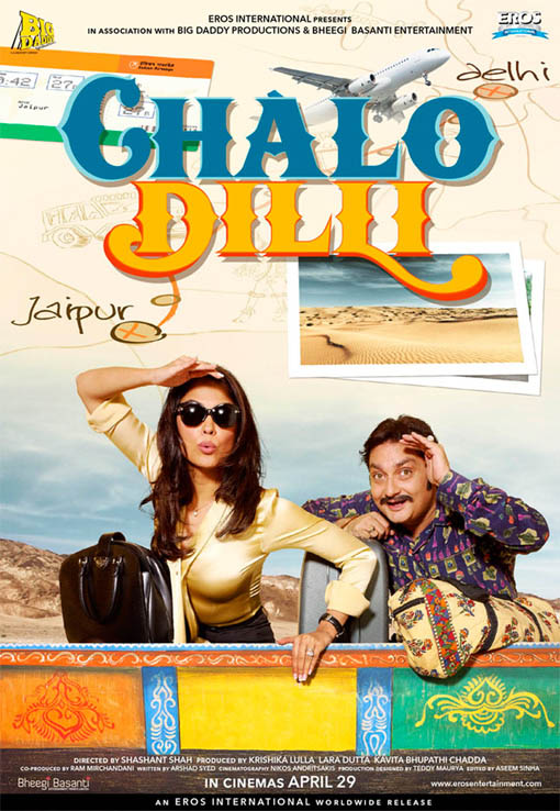 Chalo Dilli Large Poster
