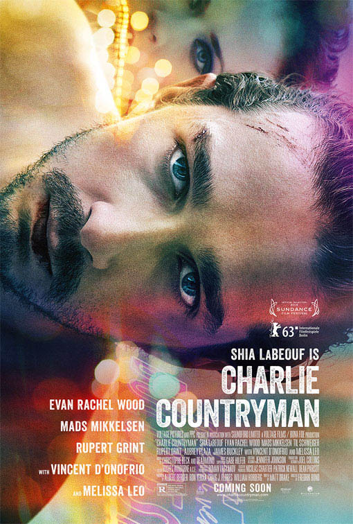 Charlie Countryman Large Poster