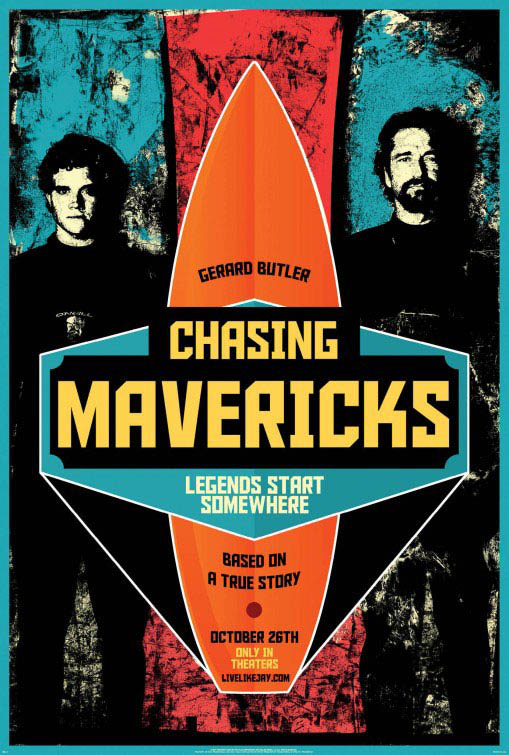 Chasing Mavericks official Movie Poster