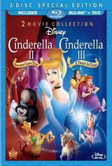Cinderella II: Dreams Come True and Cinderella III: A Twist in Time Movie Poster